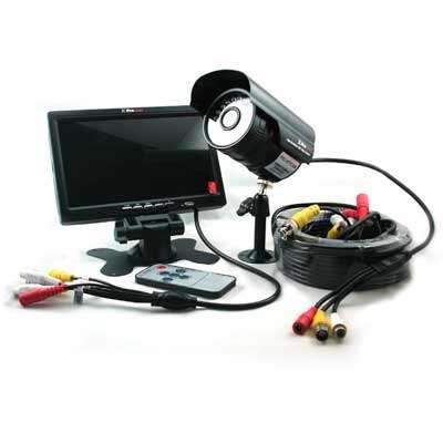 "KIT MONITOR 7""+CAMARA C/CABLES Y FTE PRONEXT K77C"