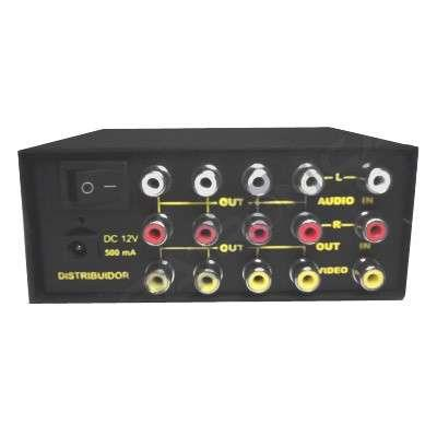 DISTRIBUIDOR VIDEO/AUDIO ST. 1 X 4