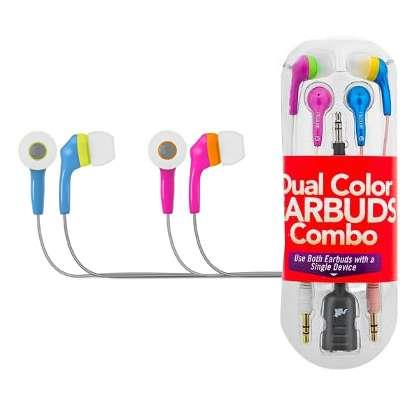 AURICULARES X 2 EARBUDS COLORES MAXELL