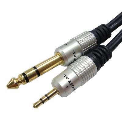 CABLE 3.5ST X 6.3ST HQ PURESONIC  5m