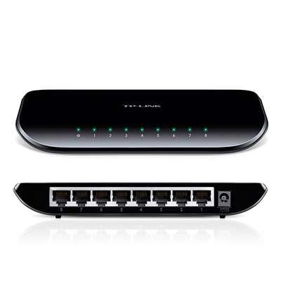 SWITCH GIGABIT 8PUERTOS TP LINK SG1008D