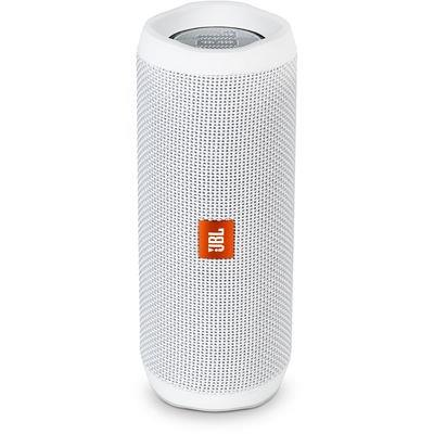 PARLANTE JBL FLIP4 BLUETOOTH BLANCO WATER RESIST