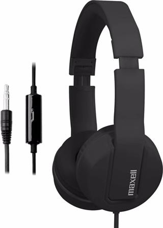 AURICULAR SOLID2 C/MIC NEGRO MAXELL